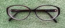 Fendi RX F567 Eye Glasses Eyeglasses Chocolate Made in Italy (Rhinestones?)