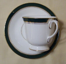 Royal Worcester Howard Green Cups and Saucers 2, old new stock