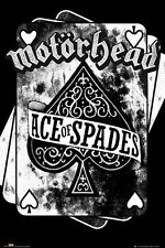 """MOTORHEAD POSTER """"ACE OF SPADES"""" LICENSED """"BRAND NEW"""""""
