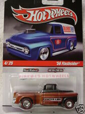 2010 Hot Wheels Delivery '56 FLASHSIDER Chevy Truck∞Center Line∞brown∞realriders