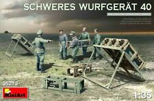 Miniart 1:35 Schweres Wurfgerat 40 Rocket Launcher With German Figures Model Kit