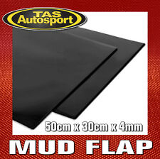 Rally Mud Flap Material 50cm x 30cm x 4mm. BLACK
