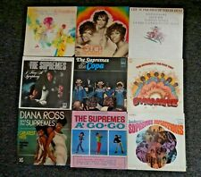DIANA ROSS and the SUPREMES~9 lp's~~~INSTANT COLLECTION SALE~~~