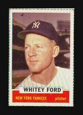 1962 BAZOOKA WHITEY FORD HIGH GRADE FULL BORDERS NEW YORK YANKEES AL CHAMPIONS