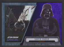 Topps Star Wars - Evolution 2016  - # 8 Darth Vader - Purple Parallel