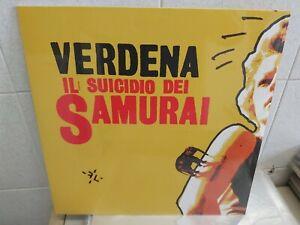 Lp VERDENA IL SUICIDIO DEI SAMURAI SIGILLATO AUTOGRAFATO NERO 180GRUNIVERSAL2015