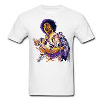 Jimi Hendrix Purple Haze Funny Tee Men's T-Shirt