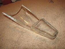 """BACCARAT """"DIVA"""" Vase 20"""" Blue Glass Signed Crystal"""