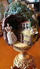 "Gone with the Wind ""Scarlett of Tara"" Franklin Mint 1998 3D Gold Plated Egg."