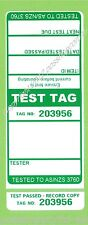 250 x GREEN Premium Electrical Adhesive Test Tag Labels