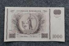 SWEDEN 1000 KRONOR 1965