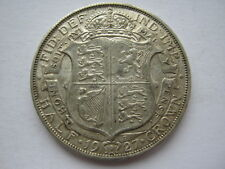 1927 silver Halfcrown 1st reverse GVF