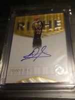 2018 Panini DeAndre Ayton Opulence Rookie Auto/99 On Card