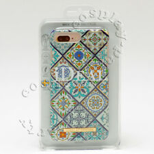 iDeal of Sweden Case For iPhone 7 Plus / iPhone 8 Plus - Marrakech Blue White