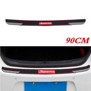 90CM Rubber Protector Trim Scratch Cover for SUV Car Rear Bumper Trunk Sill Pad