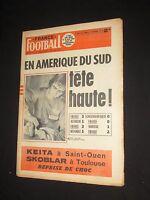 FRANCE FOOTBALL N° 1285 1970 MOLITOR BELGIQUE-FRANCE 1-2