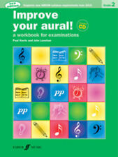 Improve your aural! Grade 2 (bk/CD) NEW!; Harris, P & Lenehan, J. - 571534392