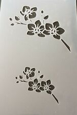 Flower Mylar Reusable Stencil Airbrush Painting Art Craft DIY home
