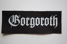 Gorgoroth Immortal Dissection Obituary Rock Metal Cloth Patch (CP166)