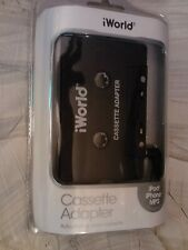 iWorld Cassette Adapter~ iPod iPhone Mp3~Model Ca-4099~2015 New In Package