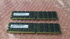 Micron MT36HTF51272pY-667E1 8GB (4GBx2) - PC2-5300 DDR2-667MHz ECC Memory Module