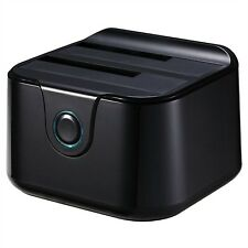Tooq Tqds-802b Dock Station doble Bahía HDD negro (Cod. Inf-aaacet0135)