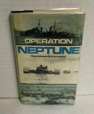 BOOK WW2 Operation Neptune by Vice-Adm B B Schiofield Sea Battles Close-up #10