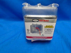 TAYMAC MM7440C While In Use Weatherproof Cover, Clear