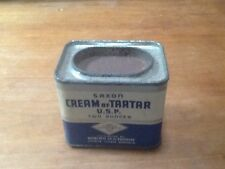 Saxon Cream of Tartar U.S.P.  2 ounces