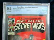 Marvel Super Heroes Secret Wars #8 CBCS 9.4 Origin of the Alien Symbiote Not CGC