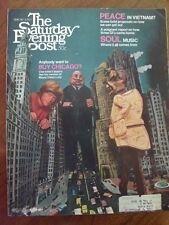 Vintage - The Saturday Evening Post - Feb 8, 1969 / Mayor Daley/ Buy Chicago