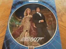 James Bond 007 Kern & Barbie Gift Set. NRFB. 2002 Pop Culture Edition. WOW!