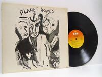 BOB DYLAN planet waves LP EX+/EX- CBS 32154, vinyl, album, folk rock, blues rock