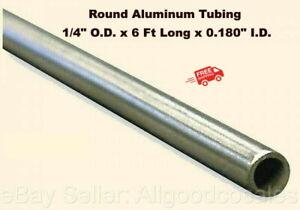 Length 1 Pc. 6061-T6 Aluminum Round Rod.375 Hex x 2 Ft