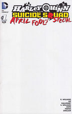 Harley Quinn & Suicide Squad April Fools Special 1 Blank sketch variant DC 1st