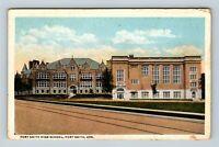 Fort Smith AR, Fort Smith High School, Arkansas, Vintage Postcard Z31