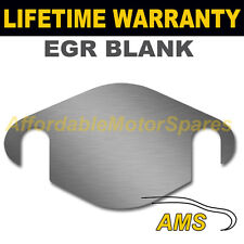 Vauxhall Opel Vectra Signum ajustement facile vanne EGR Blank Plate 1.5 mm acier épais NS