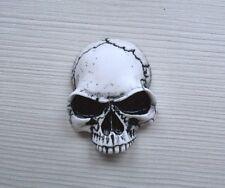 3d Skull Emblem Badge Sticker for Custom Car Motorcycle Bike Hot Rod
