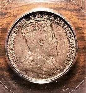 Canada 1903-H PCGS AU50 5 cents