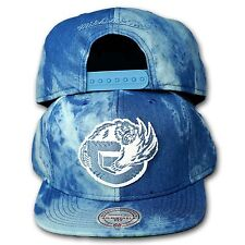 Original Mitchell & Ness vancouver grizzlies SnapBack cap nba Blue dyed Denim