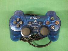 PlayStation2 -- Analog controller 2 Ocean blue --  PS2. JAPAN GAME. 37116