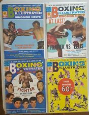 1970 Boxing Illustrated / Ringside News,  13 total
