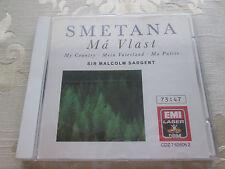 SMETANA MA VLAST - MY COUNTRY SIR MALCOLM SARGENT 1989 EMI LASER DRM CDZ7626062