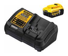 DEWALT DCB184 18v 5Ah XR Li-Ion Battery and DCB115 Fast Multi Charger