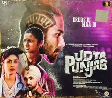UDTA PUNJAB (2016) SHAHID KAPUR, KAREENA KAPOOR - BOLLYWOOD AUDIO CD