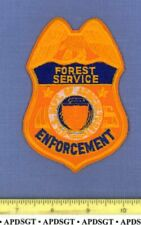 USFS AGRICULTURE ENFORCEMENT WASHINGTON DC Federal Police Patch DNR FOREST