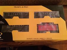 K-Line by Lionel 21583 Keystone Coal & Coke Hopper & Caboose 4 Pack New in Box!