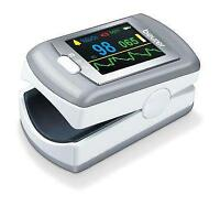 Beurer PO80 Fingertip Pulse Oximeter Colour Display with 24 Hour Recording