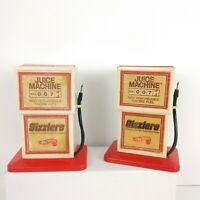 Mattel Hot Wheels SIZZLERS JUICE MACHINE GAS PUMP Lot 1969 Vintage