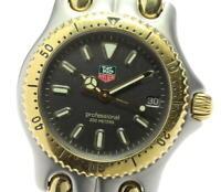 TAG HEUER S/el S95.213-1 Professional 200 gray Dial Quartz Boy's Watch_601711